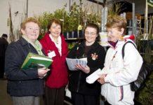 Margaret Ryan (Carmel's Garden Centre, Kilworth, Co Clare); Breda Kehoe (Early Bird Garden Centre, Mallow); Rosemary Flannery (Flannery's Nurseries); Carmel Towey (Carmel's Garden Centre)