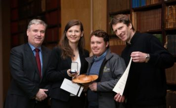 Coillte win RDS Forestry Award Pictured above are Gerard Murphy, Managing Director of Coillte, with local Coillte management team of Izabela Witkowska, Colm Lyons and Kieran Quirke