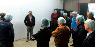 A recent meeting of the commercial mushroom producers organisation