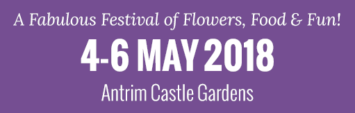 A fabolous festival of flowers, food and fun logo