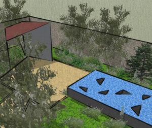 """FBD Insurance's """"Deep Play"""" Garden"""