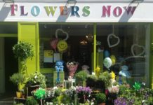 Flowers Now Shop Front