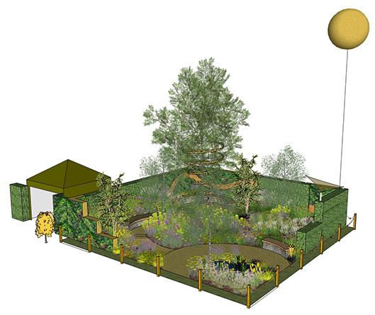Marie Keating Foundation Sunsmart Garden