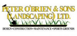 Peter O'Brien and Sons landscaping ltd logo