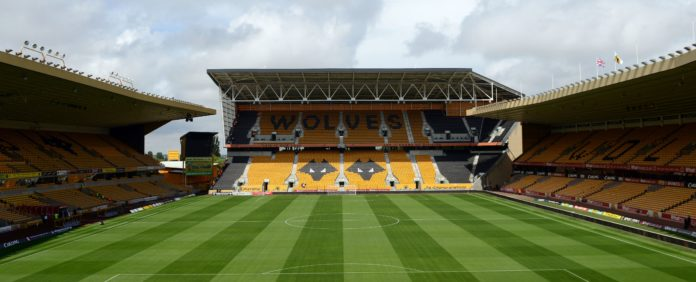 Molineux Stadium the home of Wolverhampton Wanderers