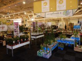 Stand Van der Salm, De Fruithof, Waterplantenkwekerij R. Moerings en Van Son en Koot