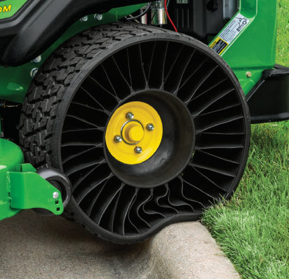 New Michelin X Tweel tyre for John Deere zero-turn mowers