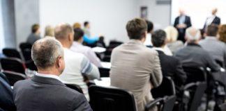 people on a seminar