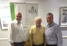 Left to Right; John Stanley, John Shannon (Inver GC & HTA Representative NI), Neil Cummings (HTA Member Support Manager)