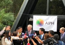 AIPH/COA COMMUNITY GARDEN OFFICIALLY OPENS FOR 2018 TAICHUNG WORLD FLORA EXPO