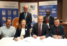 Signing of the Collaborative Agreement