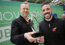 Sherriff Amenity wins SALTEX Innovation Award 2018.