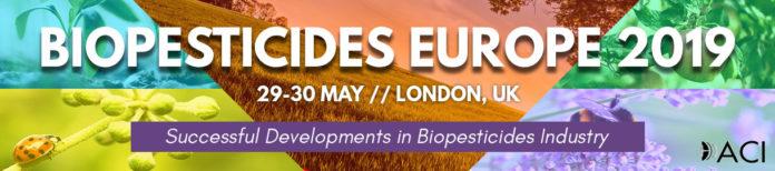 Biopesticides Europe 2019 banner