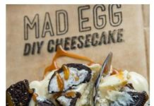 Mad Egg Diy cheesecake