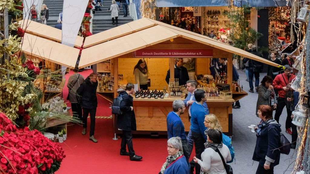 The Christmas Delights product group in Hall 8.0 will offer retailers additional sales potential with culinary items to take away. Source: Messe Frankfurt Exhibition GmbH/Pietro Sutera.