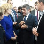 Minister of State for Agriculture Andrew Doyle pictured with German Agriculture Minister Julia Kloeckner