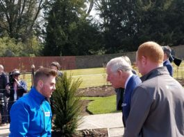 CAFRE horticulture students help prepare Hillsborough gardens for grand re-opening