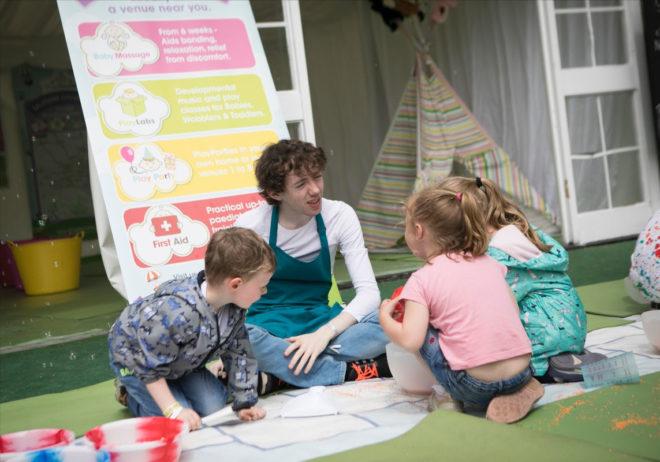 Food Dudes Kids' Zone at Bloom