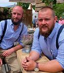 Peter Cowell & Monty Richardson (The Hairy Gardeners)
