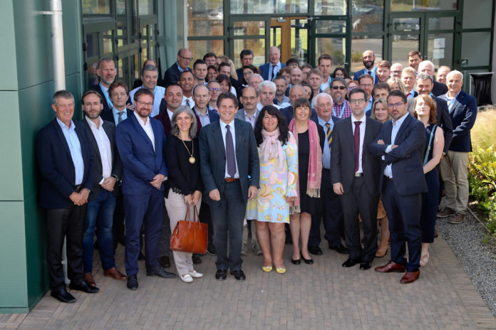 Teagasc hosted the 12th Plenary Meeting of the European Technology Transfer Offices Circle, at Ashtown, Dublin on Thursday, 4 July, and Friday, 5 July. Pictured at the meeting were the Technology Transfer Office leaders from over 30 of the leading universities and research organisations across the European Union.