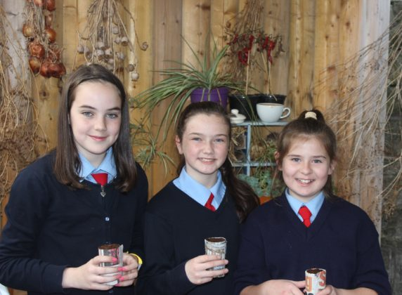 Pictured is (L-R): Molly Mulholland, Mia Aungier and Ruby GIll at The National Botanical Gardens as part of their Agri Aware Incredible Edibles prize. The students got to explore the grounds, dig in to a planting workshop, and receive new seeds to bring back to their school. The school also received a sun bubble greenhouse for their own school garden as part of their prize. Visit www.incredibleedibles.ie to register today!