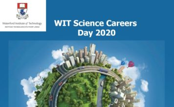 WIT Science Careers Open Day 2020 banner