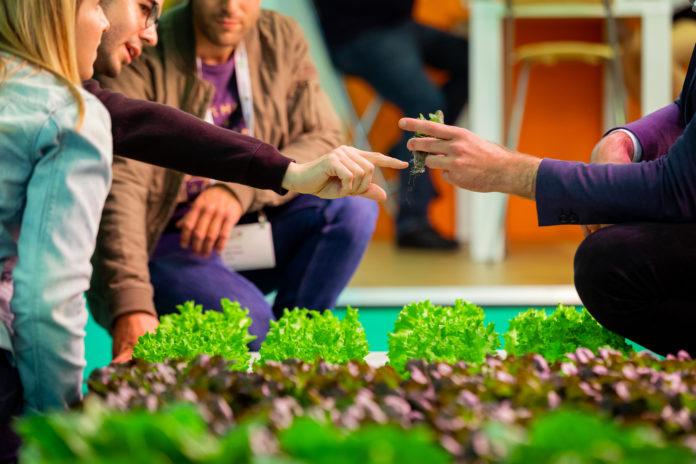 An image of GreenTech Amsterdam show trade.