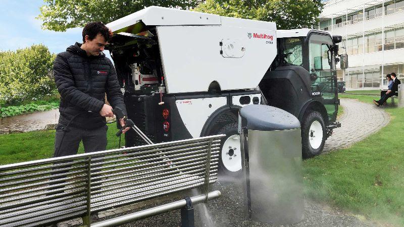 The CV multi-purpose sweeper