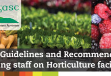COVID 19: Guidelines and Recommendations for Safeguarding staff on Horticulture facilities