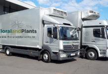 An image of trucks of FloralandPlants