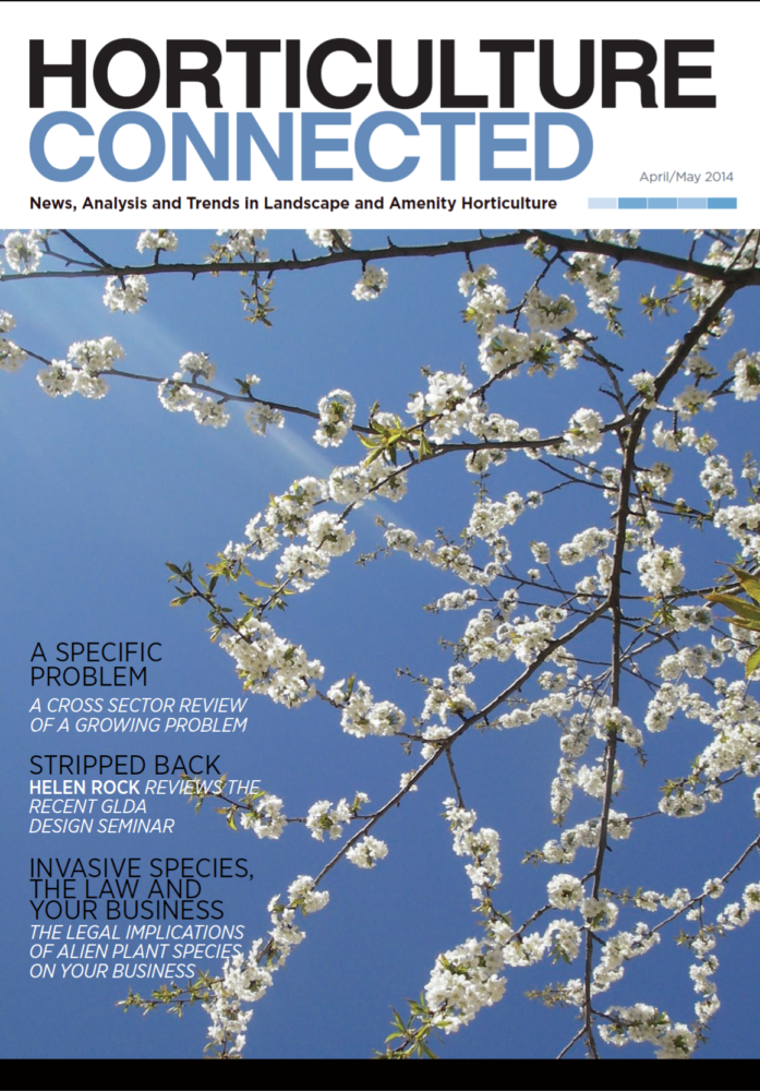 Spring 2014 front cover image