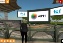 An image of a 3D AIPH conference
