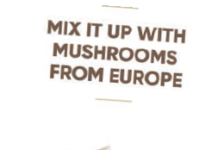 Mix it up with mushrooms from Europe logo