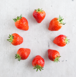 An image of strawberries