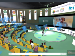 An image of the virtual AIPH conference