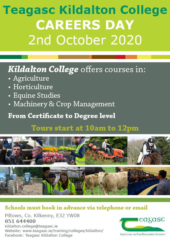 Kildalton College-Open-Day 2020 banner