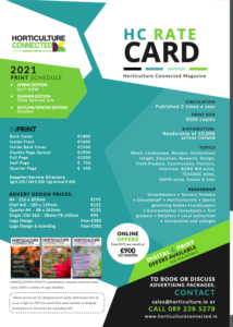 HC Rate Card