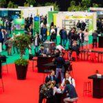 Show floor of GreenTech Live & Online